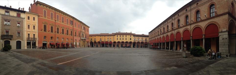 Piazza Matteotti a Imola