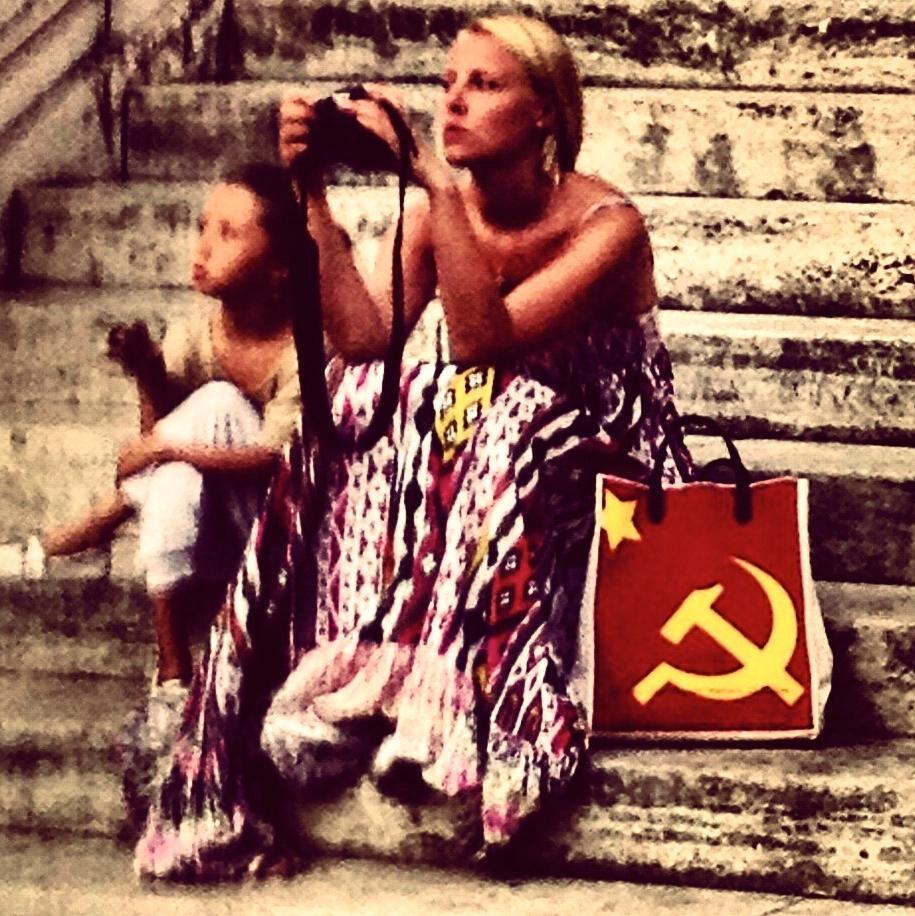 Per quanto la foto sia fatta con l'iPhone è stata pubblicata su Instagram (Roma, 2010)
