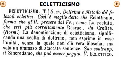 Eclettismo