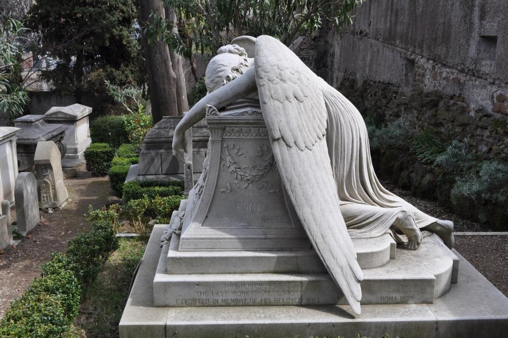 Gaetano Ferri - La tomba di Emelyn Story, Cimitero Acattolico, Roma 2012
